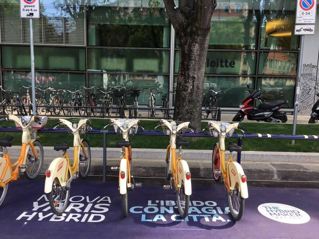 BikeMI con Toyota