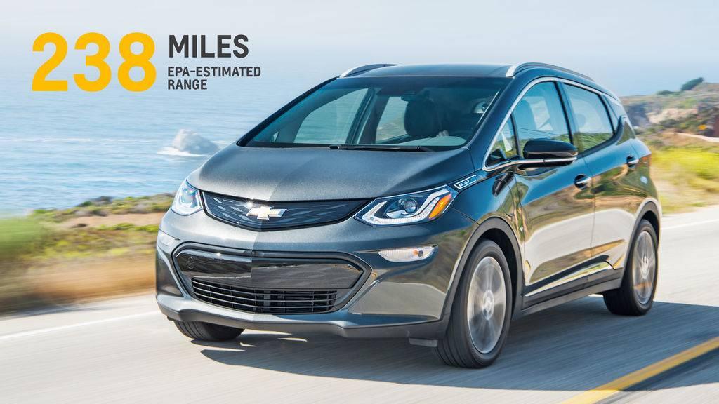 auto elettriche, Chevrolet Bolt EV